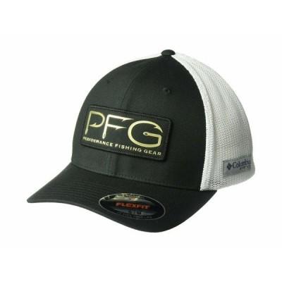 コロンビア 帽子 アクセサリー メンズ PFG Mesh Hooks Ball Cap Black/Gold