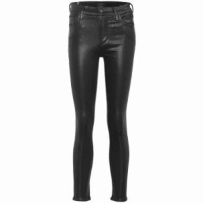 シチズン ジーンズ・デニム Rocket high-rise skinny ankle jeans black