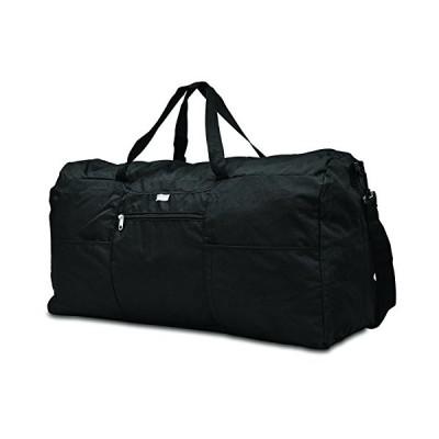 Samsonite Foldaway Packable Duffel Bag, Black, Extra Large 並行輸入品