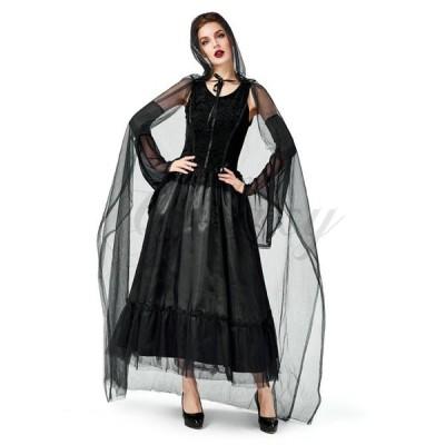 ハロウィン クール 魔女 魔法使い ウォッチ 吸血鬼 ヴァンパイア シャーマン 死神?S-XL 仮装 コスプレ衣装 ps3656(ps3656)