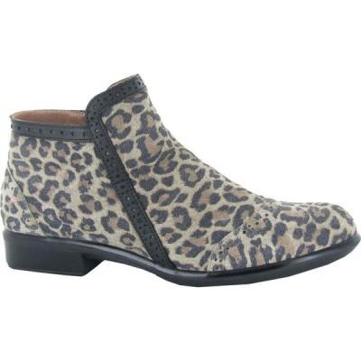 ナオト Naot レディース ブーツ シューズ・靴 Nefasi Cheetah Suede/Jet Black Leather