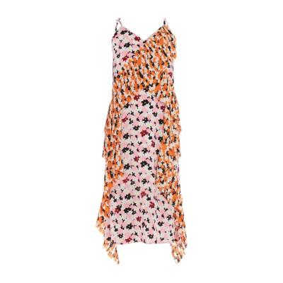 ケンゾー KENZO 7分丈ワンピース・ドレス ピンク 36 ポリエステル 94% / ポリウレタン 6% 7分丈ワンピース・ドレス