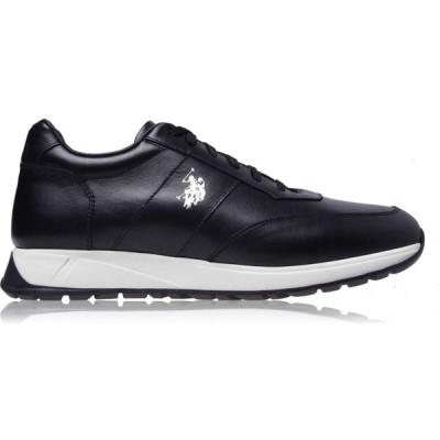 ユーエスポロアッスン US Polo Assn メンズ スニーカー シューズ・靴 Nicky Trainers Black BLK