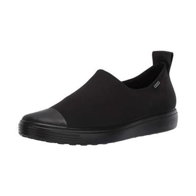 [エコー] スリッポン SOFT 7 W BLACK/BLACK/BLACK 22 cm 2.5E