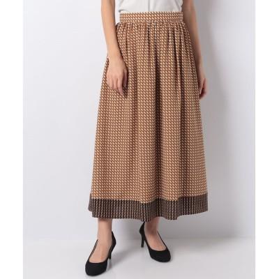 【アルアバイル/allureville】 【セットアップ対応商品】ミニキカプリントギャザースカート