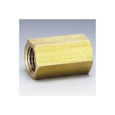 フローバル 黄銅製ねじ込み継手六角ソケット(G6S) ネジ(Rc):1/8 G6S-01-BS 0