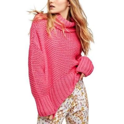 フリーピープル ニット&セーター アウター レディース My Only Sunshine Sweater Hot Pink