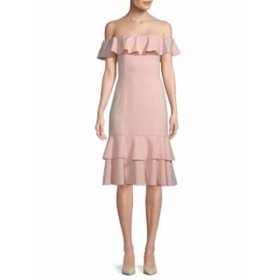 ジェイゴッドフリー レディース ワンピース Momoa Off-the-Shoulder Midi Dress