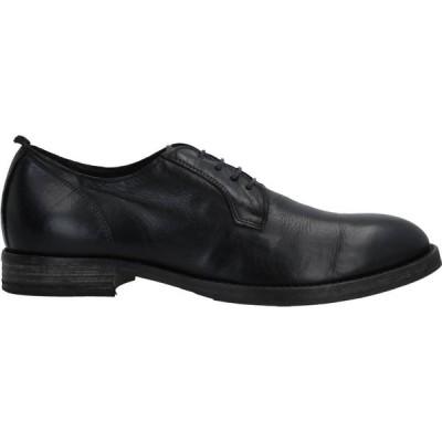 モマ MOMA メンズ 革靴・ビジネスシューズ シューズ・靴 Laced Shoes Black