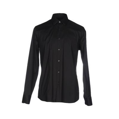 プラダ PRADA シャツ ブラック 39 コットン 78% / ナイロン 18% / ポリウレタン 4% シャツ