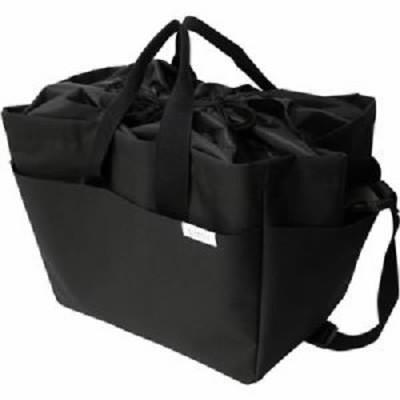 オカトー miketto 保冷のできるレジかごバッグ 「ROUGH」 ブラック 黒