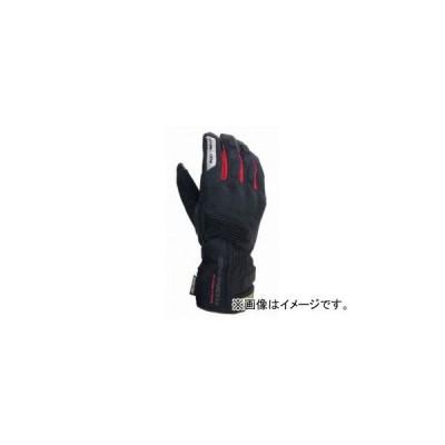 2輪 コミネ/KOMINE GK-766 GTX ウインターグローブ ヴェロニカ 06-766 ブラック/レッド サイズ:M