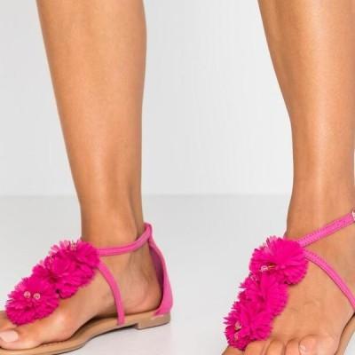 ドロシーパーキンス レディース 靴 シューズ FLEURS - T-bar sandals - pink