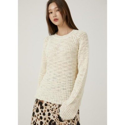 TWEE レディース ニット/セーター Cellrobin mix round knit