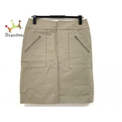 アドーア ADORE スカート サイズ38 M レディース 美品 カーキ     スペシャル特価 20200427