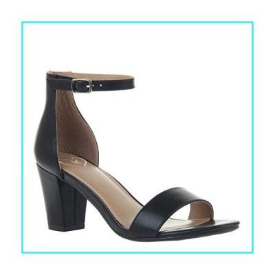 Madeline Women's Carpe Diem Heeled Sandals - Jet Black - 8 M US