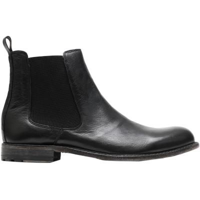 SANGUE ショートブーツ ブラック 41 革 ショートブーツ