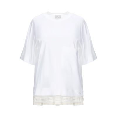ピューテリー PEUTEREY T シャツ アイボリー 48 100% コットン T シャツ