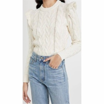 フレーム FRAME レディース ニット・セーター トップス Sofia Sweater Off White