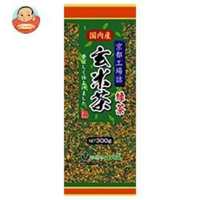 送料無料  山城物産  京都工場詰 玄米茶  300g×20袋入