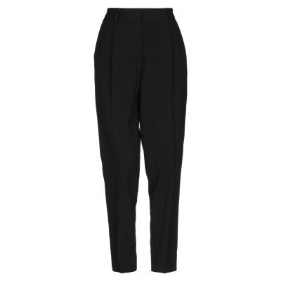 OTTOD'AME パンツ ブラック 40 ポリエステル 68% / レーヨン 28% / ポリウレタン 4% パンツ