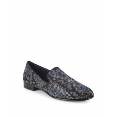 ジュゼッペザノッティ メンズ シューズ ローファー Nailhead Leather Loafers