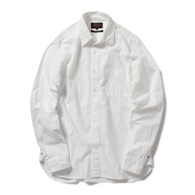 シャツ ブラウス BEAMS PLUS / ペルーピマ レギュラーカラー シャツ