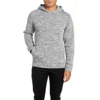 Calibrate キャリブレイト ファッション トップス CALIBRATE NEW Gray Mens Size Medium M Ribbed Hem Knit Fleece Hoodie
