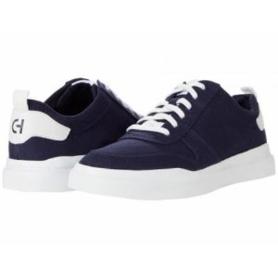 Cole Haan コールハーン メンズ 男性用 シューズ 靴 スニーカー 運動靴 GrandPro Rally Canvas Court Sneaker Marine Blue【送料無料】