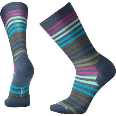 スマートウール Smartwool メンズ スキー・スノーボード spruce street crew socks Dark Blue Steel Heather