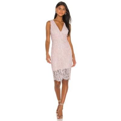 バルドー Bardot レディース ワンピース ワンピース・ドレス Lisa Lace Dress Pink