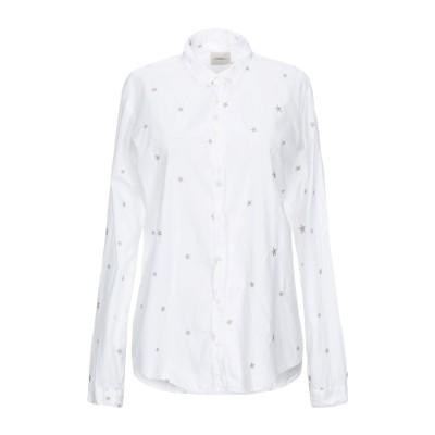 メルシー ..,MERCI シャツ ホワイト M コットン 95% / ポリウレタン 5% シャツ