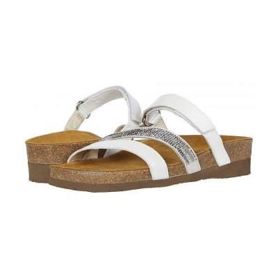 Naot ナオト レディース 女性用 シューズ 靴 サンダル Columbus - White Pearl Leather/White Multi Rivets