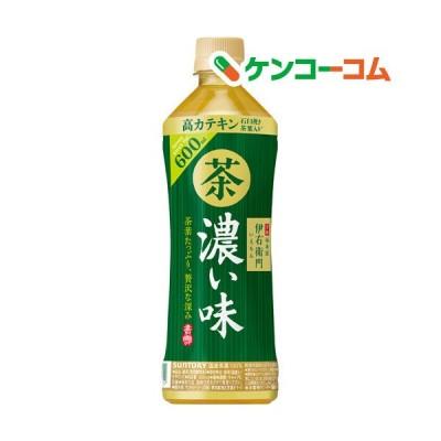 サントリー緑茶 伊右衛門 濃い味 ( 600ml*24本入 )/ 伊右衛門