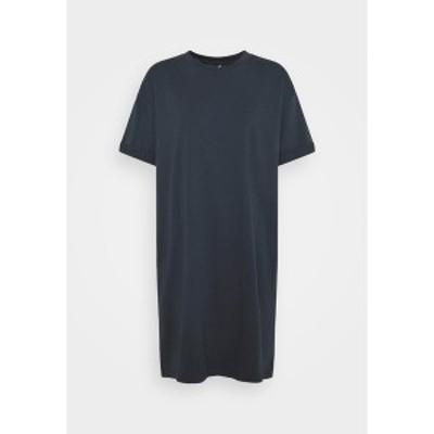 ピーシーズ レディース ワンピース トップス PCRIA DRESS - Jersey dress - blue blue