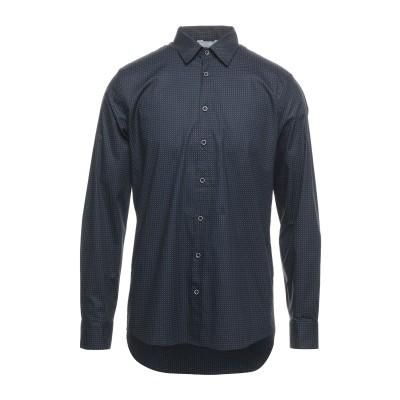 SSEINSE シャツ ダークブルー L コットン 97% / ポリウレタン 3% シャツ