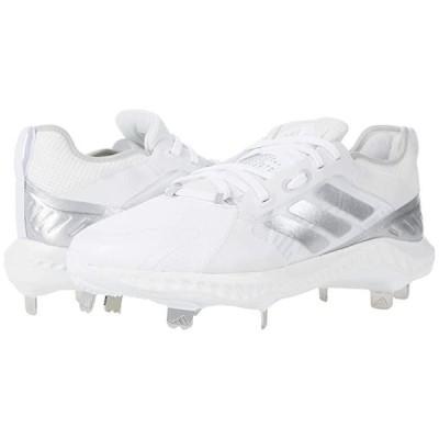 アディダス PureHustle レディース スニーカー Footwear White/Silver Metallic/Grey One