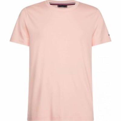 トミー ヒルフィガー Tommy Hilfiger メンズ Tシャツ トップス Tommy Pima Cotton Crew T Shirt Sunset Coral