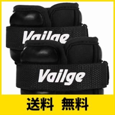 Vailge アンクルウェイト 筋トレ リストウェイト ダイエット 手足両用 おもり 体幹トレーニング ブラック 0.5/1/1.5/2/3kg 2個セット