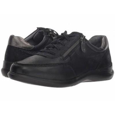 Aravon アラヴォン レディース 女性用 シューズ 靴 スニーカー 運動靴 Power Comfort Tie w/ Side Zip Black【送料無料】