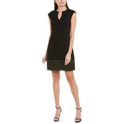 トリーナターク ワンピース トップス レディース Trina Turk Flapper Sheath Dress black