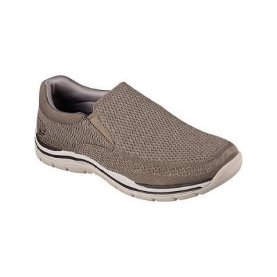 Skechers USA メンズ Expected Gomel スリップ-on Loafer, モグラ, 11 M US(海外取寄せ品)