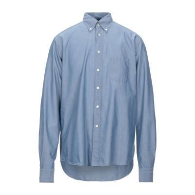 ETON シャツ ブルーグレー 41 コットン 100% シャツ