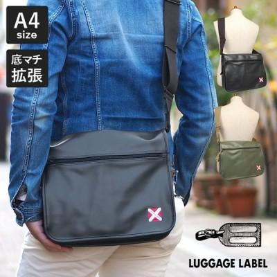 1年保証 吉田カバン ラゲッジレーベル ライナー ショルダーバッグ L A4 ブラック カーキ 951-09236