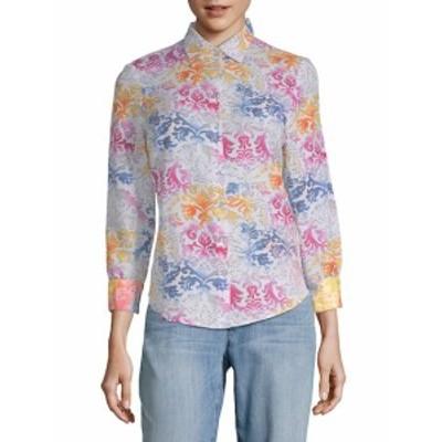 ロバートグラハム レディース トップス シャツ Cotton Silk Printed Shirt