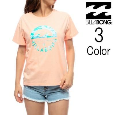 ビラボン Billabong レディース S/S T-SHIRTS ボックスロゴ Tシャツ bb013221
