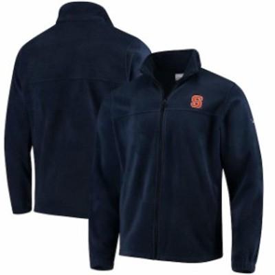 Columbia コロンビア スポーツ用品  Columbia Syracuse Orange Navy Flanker Full Zip Fleece Jacket