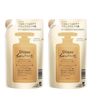 2個セットダイアン ボヌール オレンジフラワーの香り モイストリラックス トリートメント 詰め替え 400ml ×2セット Diane Bonheur  つや 詰め替え