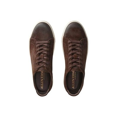Allen Edmonds Canal Court メンズ スニーカー 靴 シューズ Brown Suede/White Solo