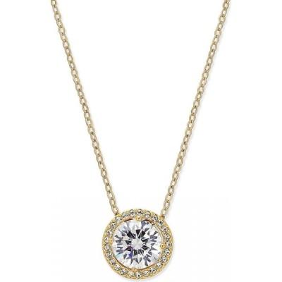 エリオット ダノリ Eliot Danori ユニセックス ネックレス ジュエリー・アクセサリー Silver-Tone Crystal Pendant Necklace's Gold